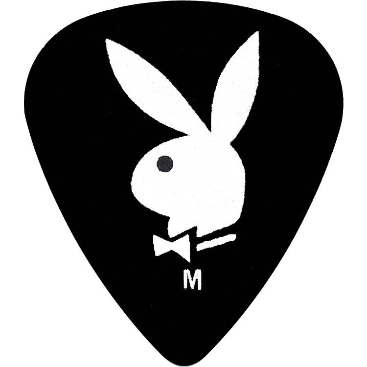 ClaytonPlayboy Guitar Picks 12-PackBlackThin