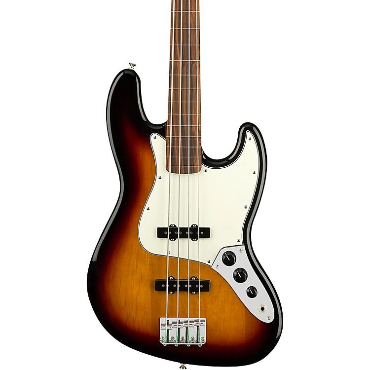 FenderPlayer Fretless Jazz Bass Pau Ferro Fingerboard3-Color Sunburst
