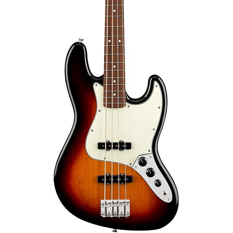 FenderPlayer Jazz Bass Pau Ferro FingerboardSilver