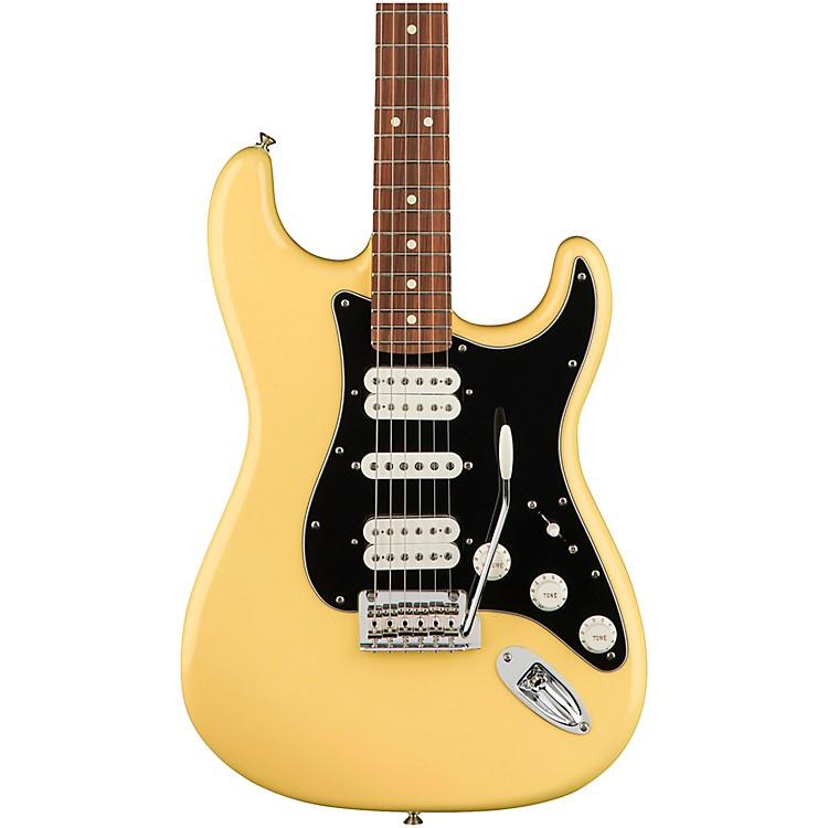 FenderPlayer Stratocaster HSH Pau Ferro Fingerboard Electric GuitarButtercream