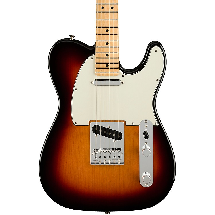 FenderPlayer Telecaster Maple Fingerboard Electric Guitar3-Color Sunburst