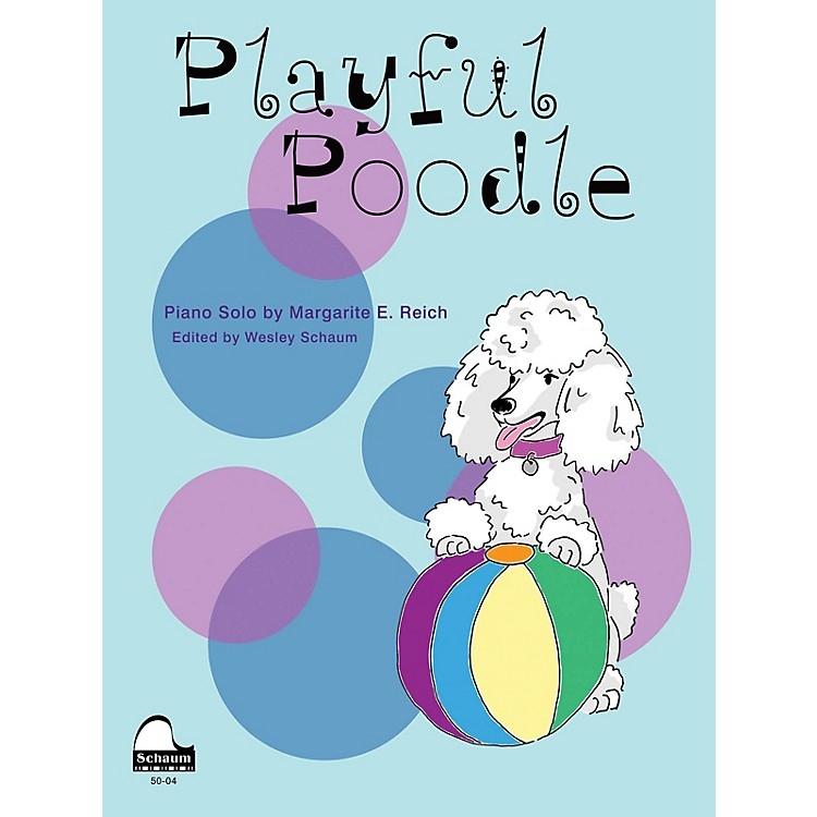 SCHAUM Playful Poodle Educational Piano Series Softcover