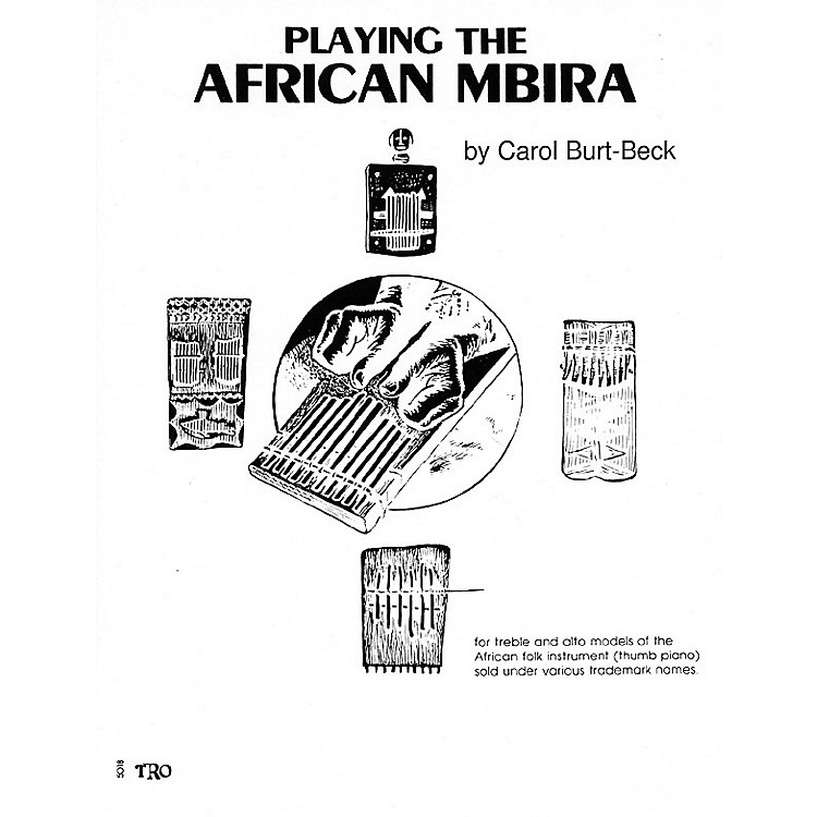 Hal Leonard Playing African Mbira Richmond Music ¯ Folios Series