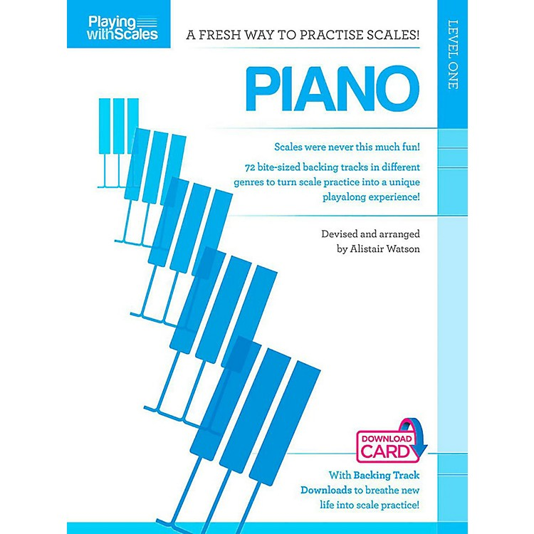 Hal Leonard Playing With Scales - Piano Book/Online Audio