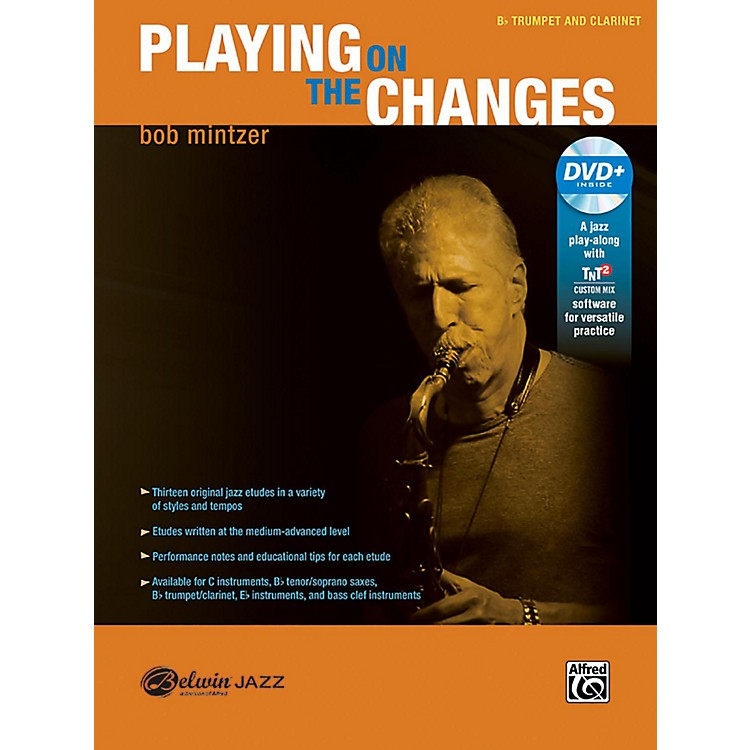 BELWINPlaying on the Changes B-flat Trumpet & Clarinet Book & DVD