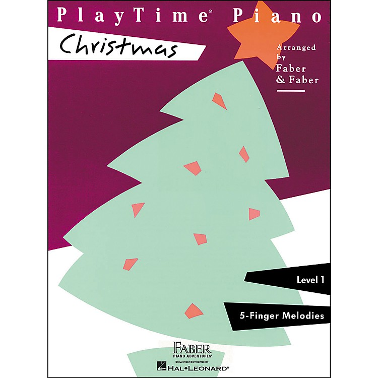 Faber Piano AdventuresPlaytime Piano Christmas Level 1 F-Finger Melodies - Faber Piano