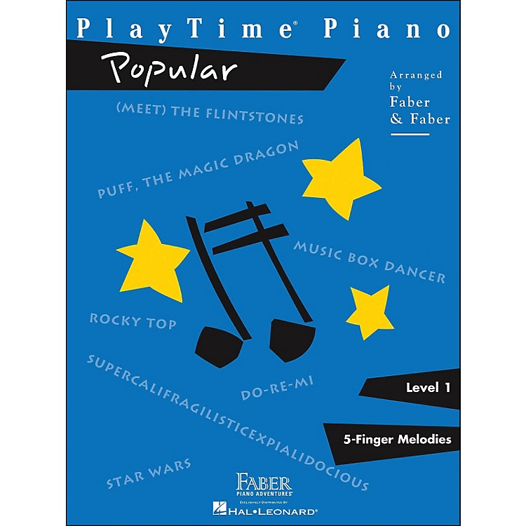 Faber Piano AdventuresPlaytime Popular Level 1