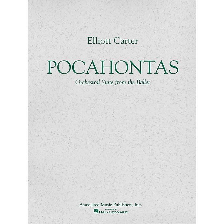 AssociatedPocahontas (Ballet Suite) (Study Score) Study Score Series Composed by Elliott Carter