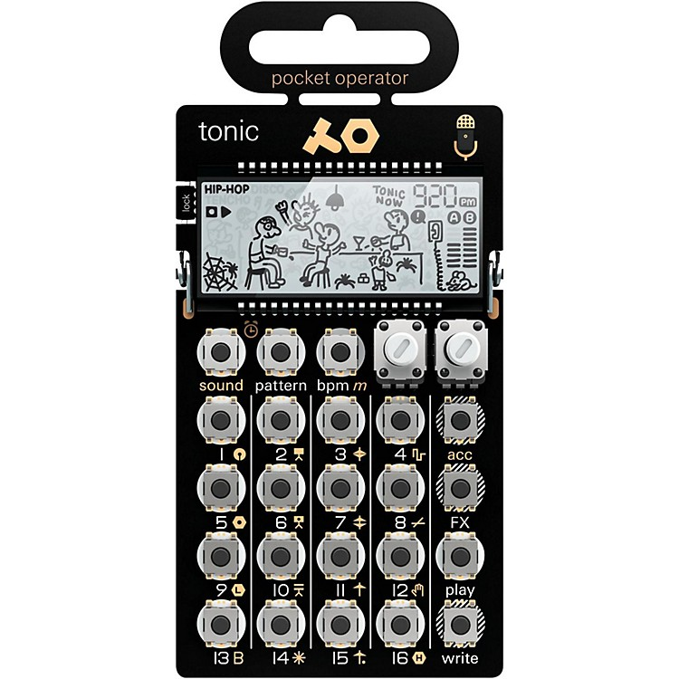 Teenage Engineering Pocket Operator PO-32 tonic Black