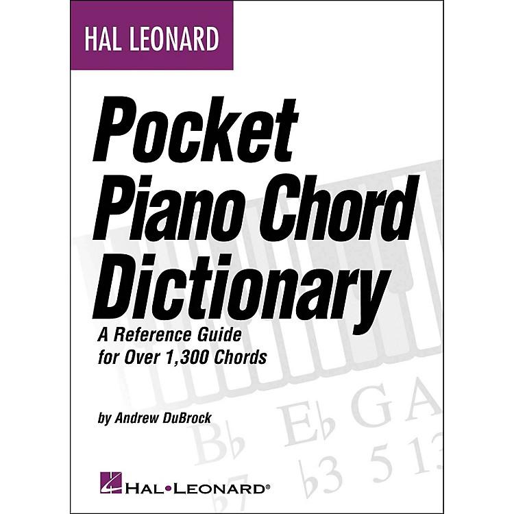 Hal LeonardPocket Piano Chord Dictionary