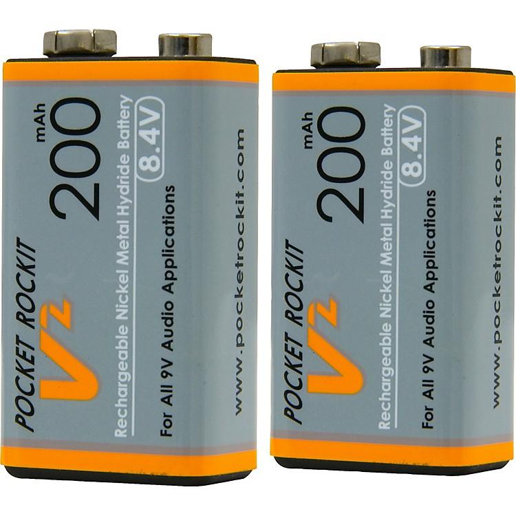 C TechPocket Rockit 9V NiMh Batteries (2)