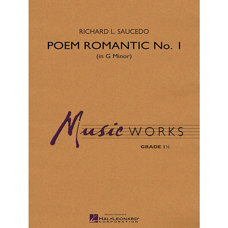 Hal Leonard Poem Romantic No. 1 (In G Minor) Concert Band Level 1