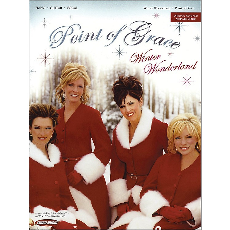 Word MusicPoint Of Grace - Winter Wonderland arranged for piano, vocal, and guitar (P/V/G)