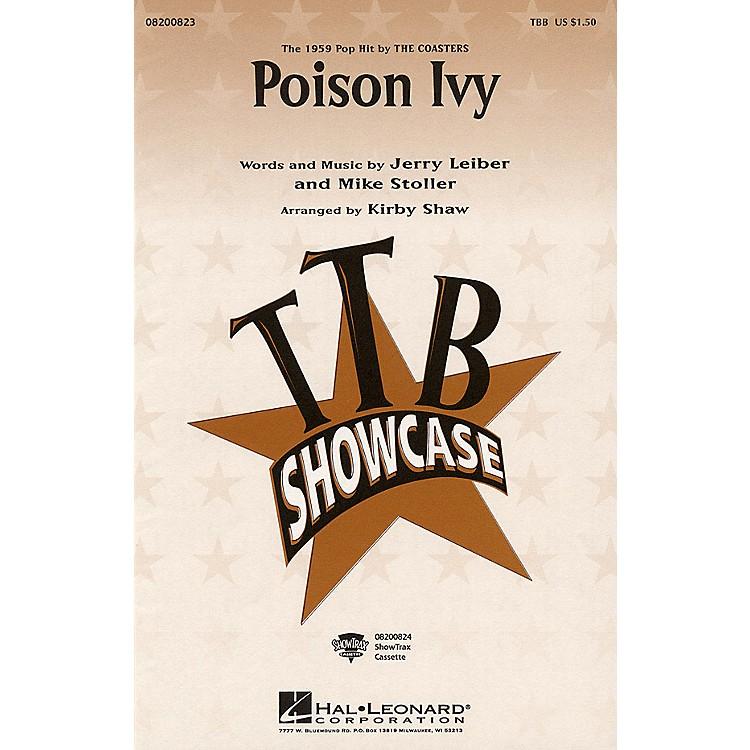 Hal LeonardPoison Ivy TBB arranged by Kirby Shaw