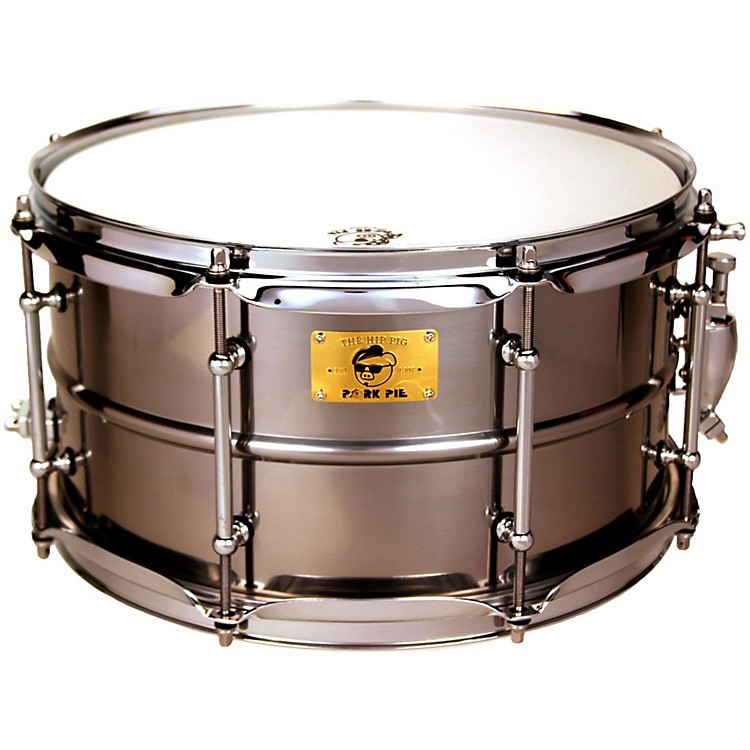 Pork Pie Polished Raw Iron Snare Drum 13 x 7 in.