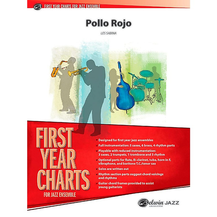 BELWIN Pollo Rojo Jazz Ensemble Grade 1 (Easy)