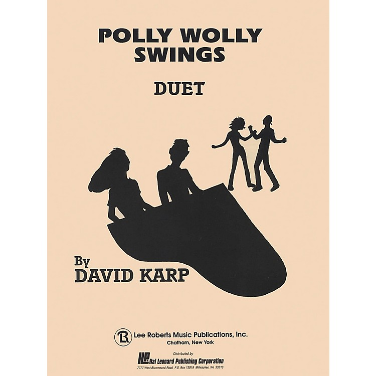 Lee RobertsPolly Wolly Swings (Level 5) Pace Duet Piano Education Series Composed by David A. Karp