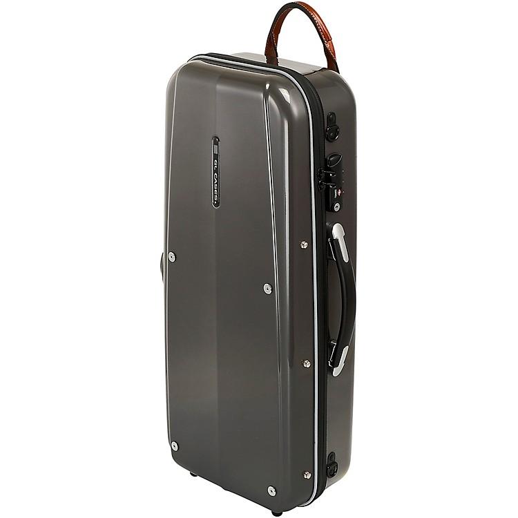 GL CasesPolycarbonate Silver Alto Saxophone Case