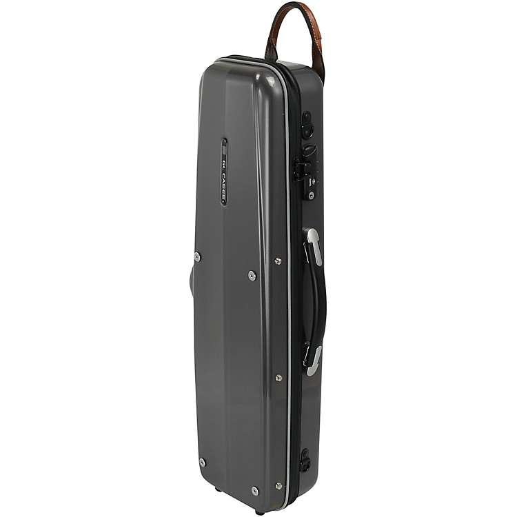 GL CasesPolycarbonate Silver Soprano Saxophone Case