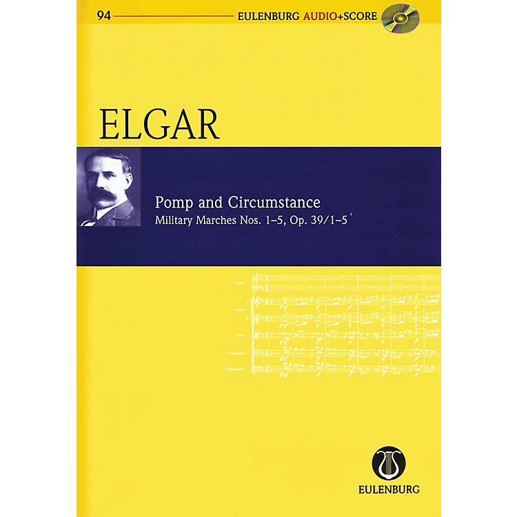 SchottPomp and Circumstance, Op. 39/1-5 Study Score Series Softcover with CD Composed by Edward Elgar