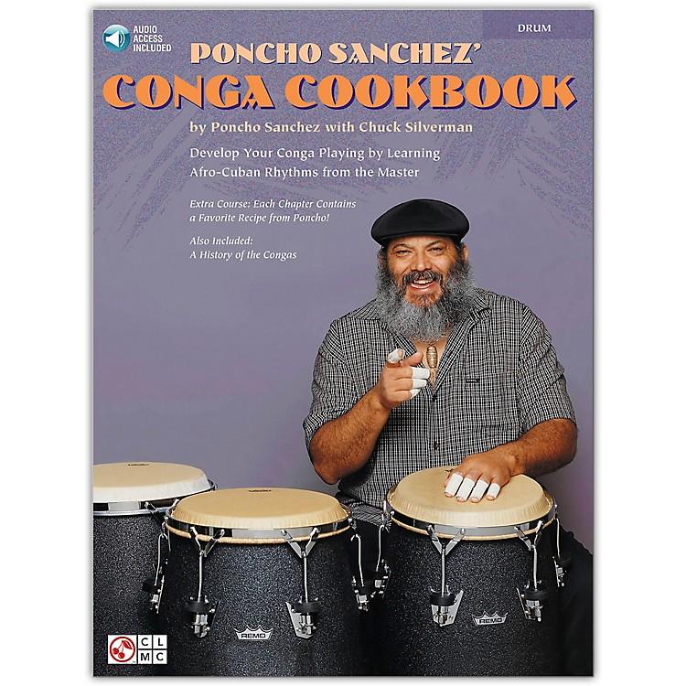 Hal LeonardPoncho Sanchez' Conga CookBook/Online Audio (Percussion / Conga Drums / Congas) Book/Online Audio