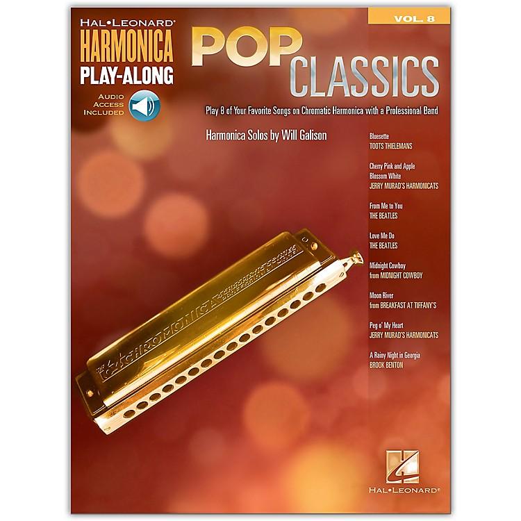 Hal LeonardPop Classics Harmonica Play-Along Volume 8 Book/Audio Online