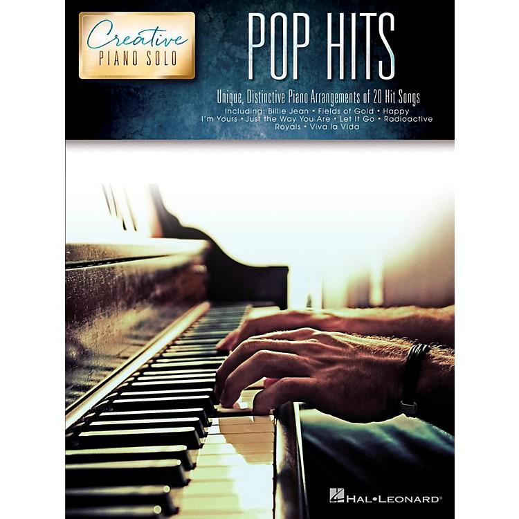 Hal LeonardPop Hits - Creative Piano Solo Songbook