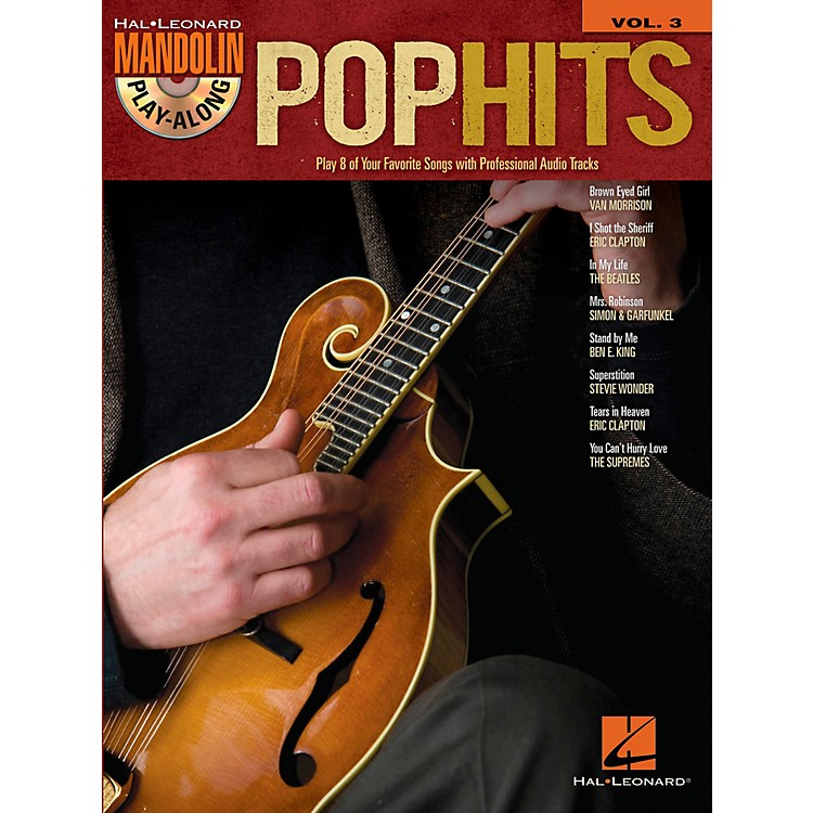 Hal Leonard Pop Hits - Mandolin Play-Along Vol. 3 (Book/CD)