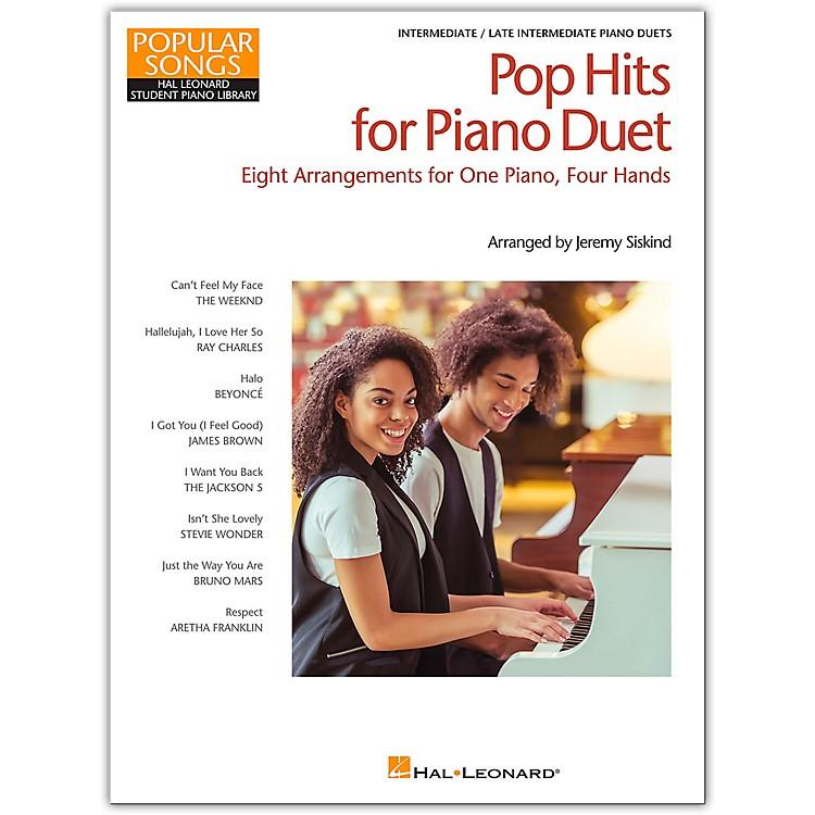 Hal LeonardPop Hits for Piano Duet-Popular Songs Series 8 Arrangements for 1 Piano, 4 Hands