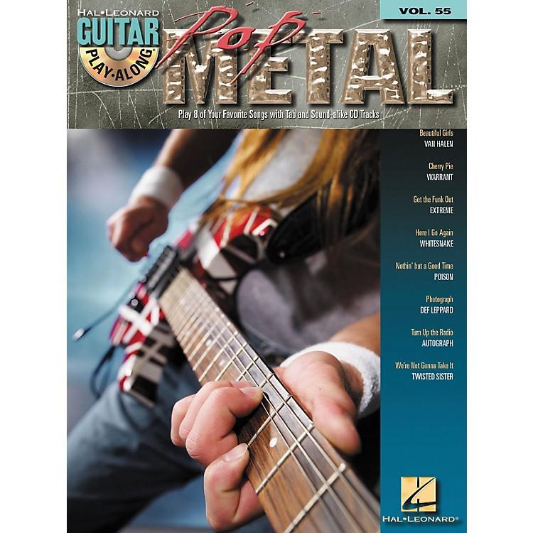 Hal LeonardPop Metal Guitar Play-Along Series Volume 55 (Book/CD)