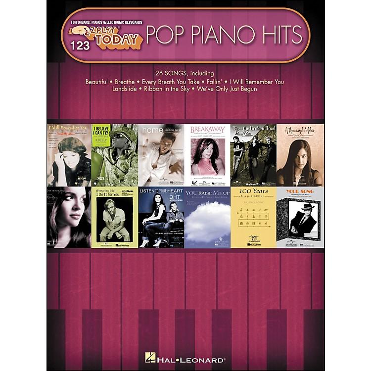 Hal LeonardPop Piano Hits E-Z Play 123