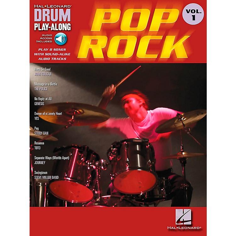 Hal LeonardPop Rock Drum Play-Along Volume 1 Book with CD