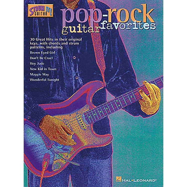 Hal Leonard Pop/Rock Guitar Favorites Guitar Tab Songbook