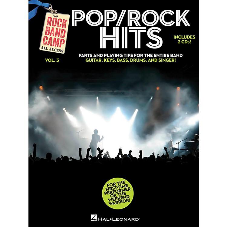 Hal LeonardPop/Rock Hits - Rock Band Camp Vol. 3 (Book/2-CD Pack) Vocal, Guitar, Keys, Bass, Drums