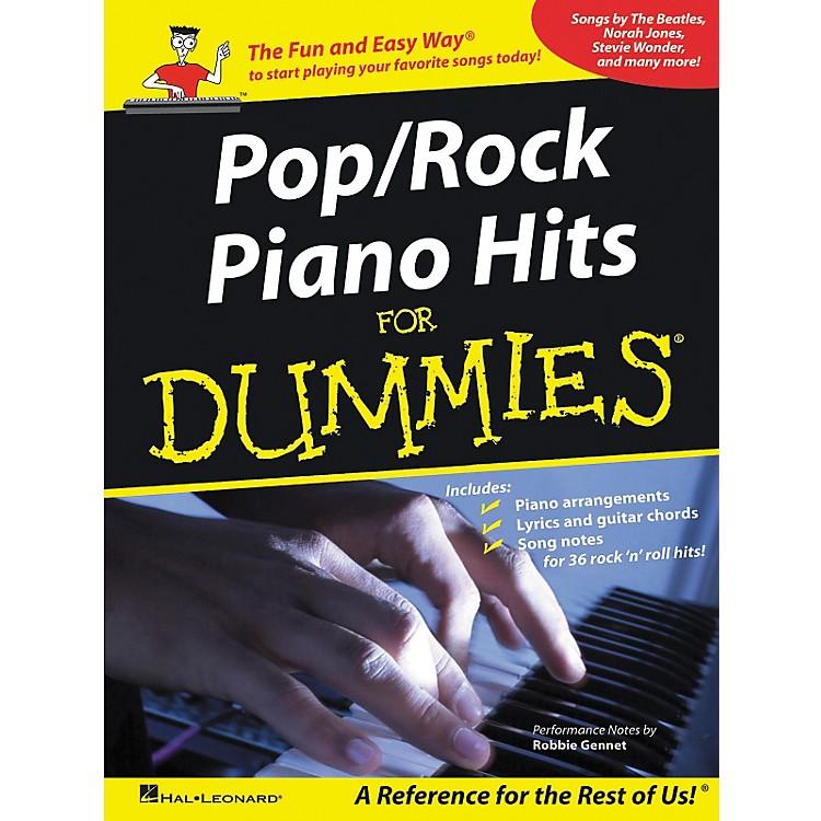 Hal LeonardPop/Rock Piano Hits For Dummies Piano-Vocal-Guitar Songbook