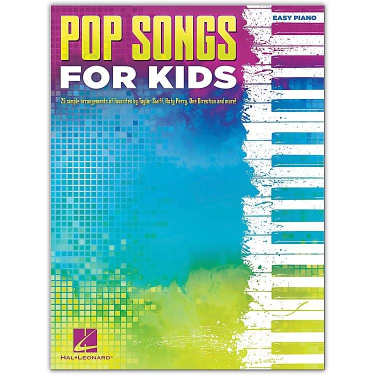 Hal LeonardPop Songs For Kids Easy Piano