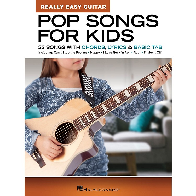 Hal Leonard Pop Songs for Kids - Really Easy Guitar Series (22 Songs with Chords, Lyrics & Basic Tab)