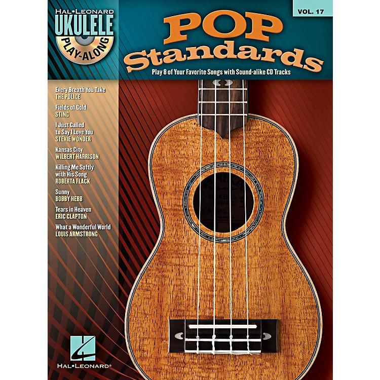 Hal LeonardPop Standards Ukulele Play-Along Volume 17 Book/CD