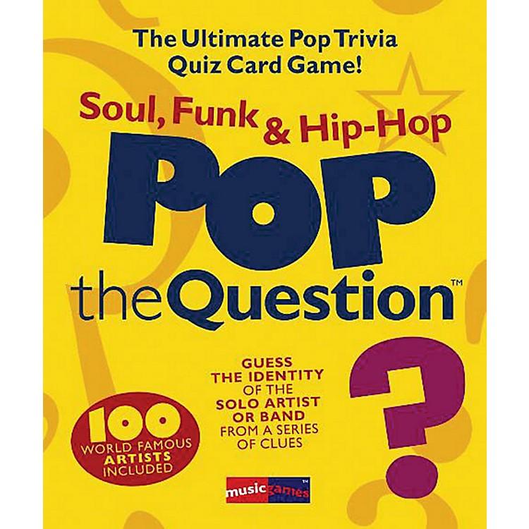Music SalesPop The Question Soul, Funk & Hip Hop - The Ultimate Pop Trivia Quiz Card Game