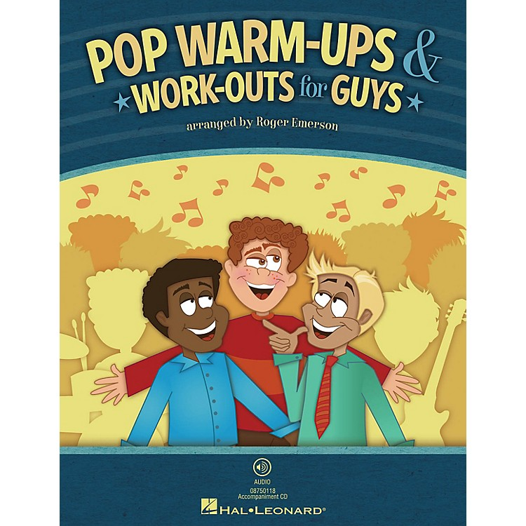 Hal LeonardPop Warm-Ups & Work-Outs for Guys (Book Only) TB