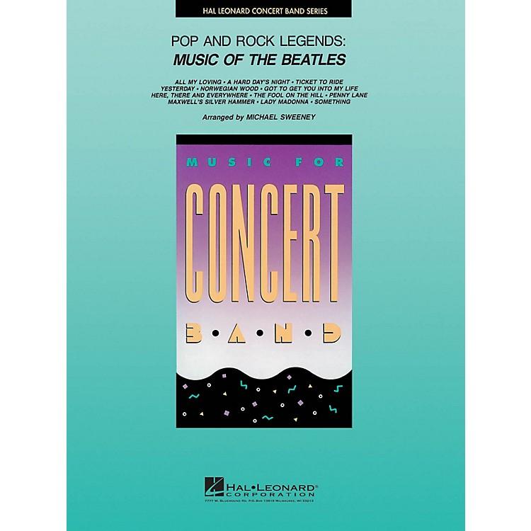 Hal LeonardPop and Rock Legends: Beatles Concert Band Level 4 by The Beatles Arranged by Michael Sweeney