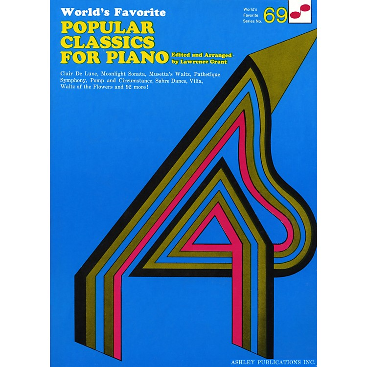 Hal Leonard Popular Classics for Piano 69 Worlds Favorite