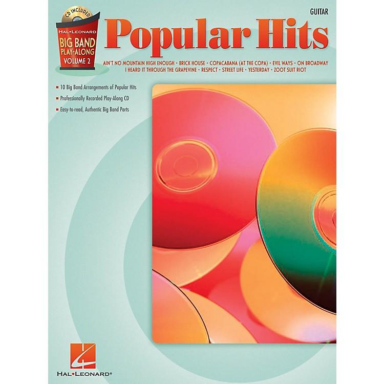 Hal LeonardPopular Hits - Guitar (Big Band Play-Along Volume 2) Big Band Play-Along Series Softcover with CD