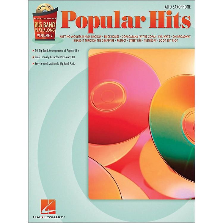 Hal LeonardPopular Hits Big Band Play-Along Volume 2 Alto Sax Book/CD