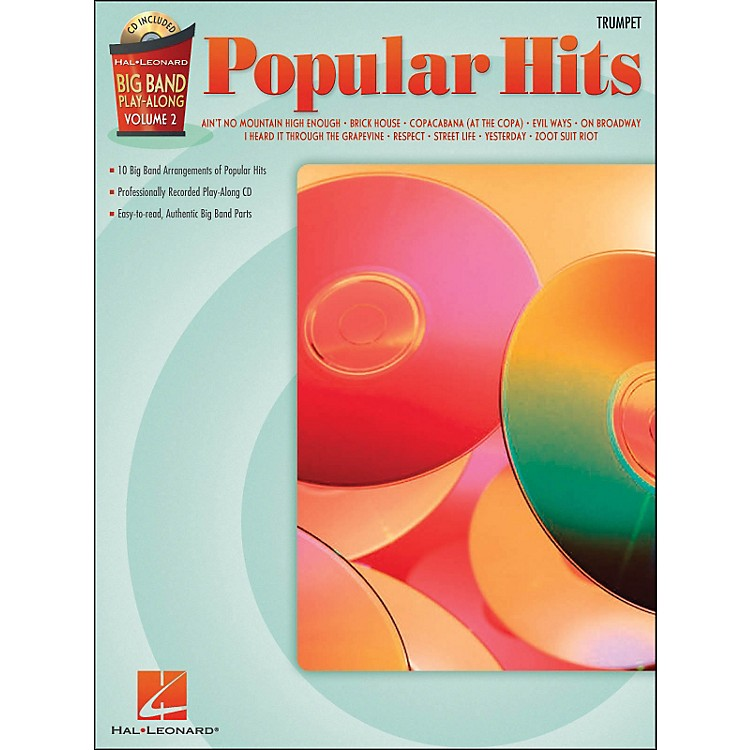 Hal Leonard Popular Hits Big Band Play-Along Volume 2 Trumpet