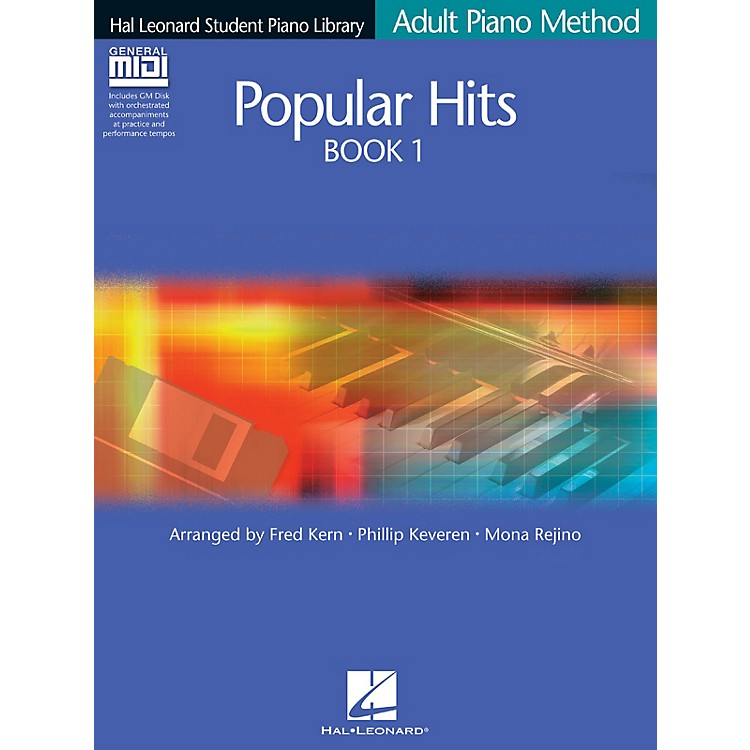 Hal LeonardPopular Hits Book 1 - Book/GM Disk Pack Educational Piano Library Series Softcover with CD