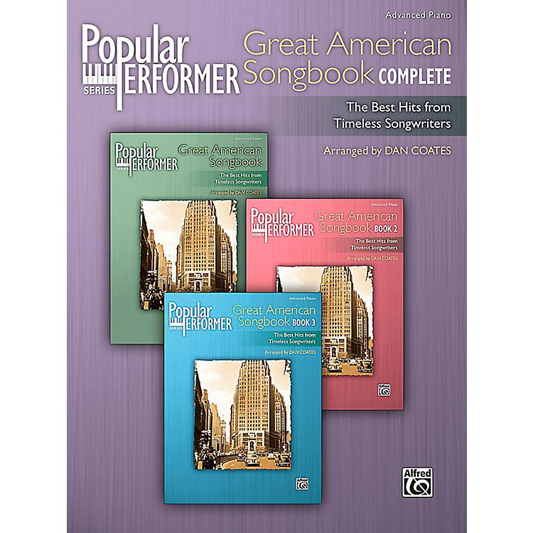 Alfred Popular Performer: Great American Songbook Complete - Advanced Book
