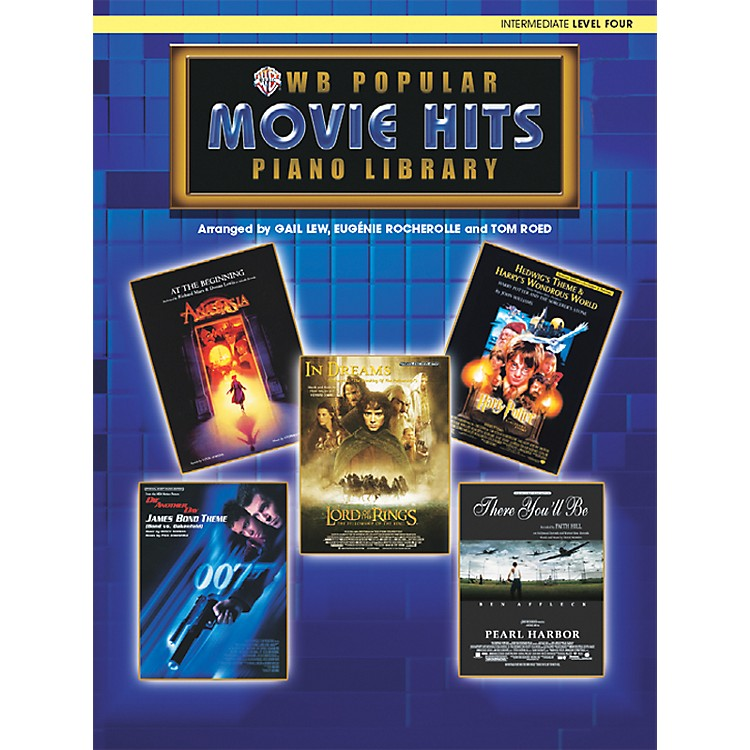 AlfredPopular Piano Library Movie Hits Level 4 Level 4 Book Only