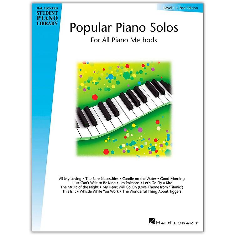 Hal LeonardPopular Piano Solos Book 1 Hal Leonard Student Piano Library
