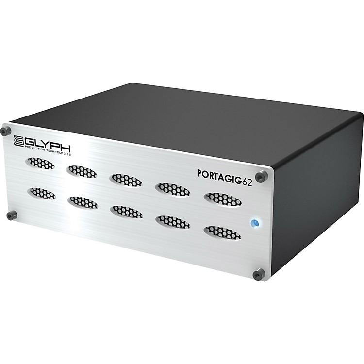 GlyphPorta Gig 62 Portable RAID Hard drive 7200RPM Portable RAID Bus PWR